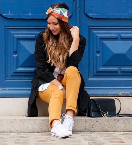 Jeans safran