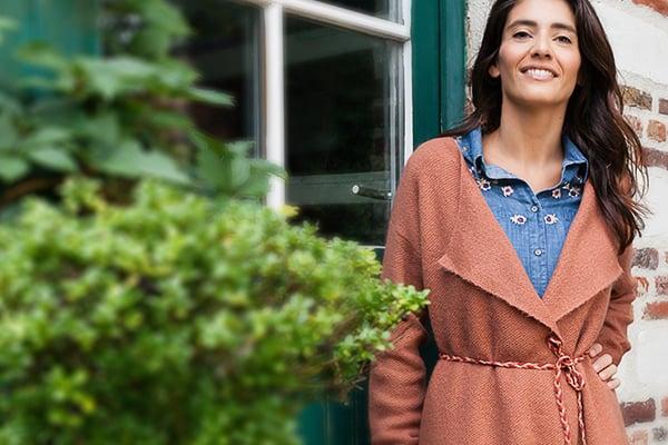 Les gros gilets Grain de Malice, vêtement pour femme mobile
