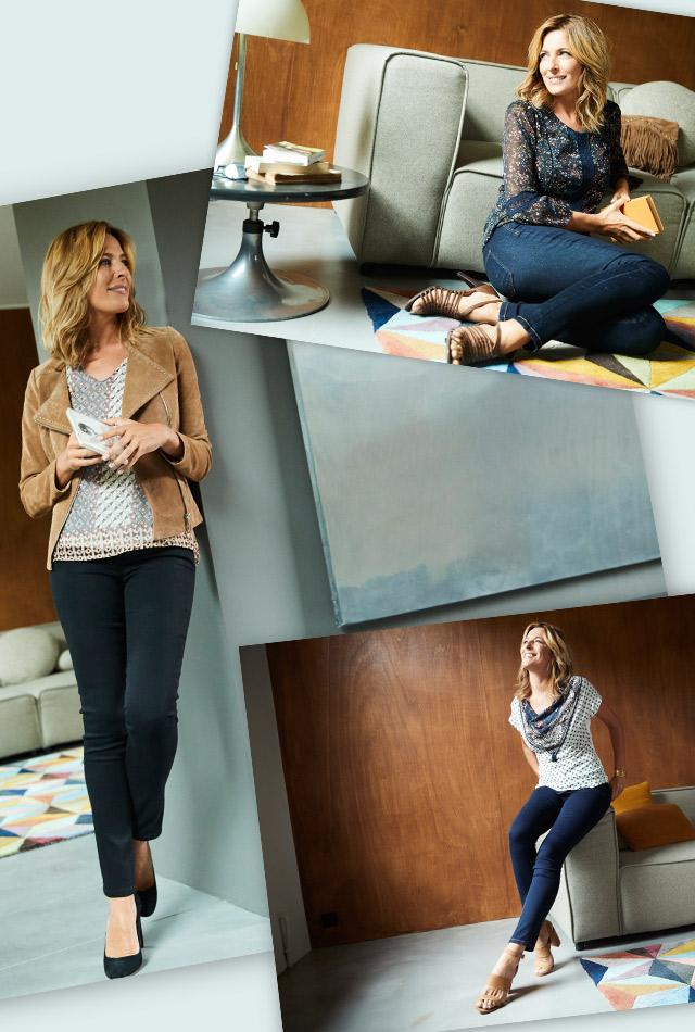 Jeans femme - mobile
