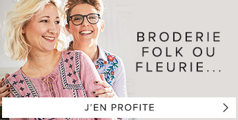 Broderie folk ou fleurie