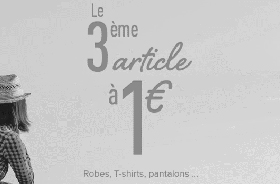 3 à 1 euro