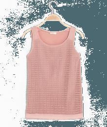 T-shirt femme en dentelle Rose-Violet