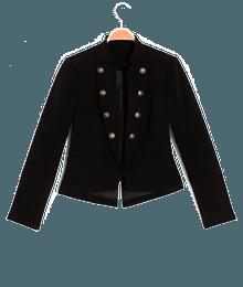 Veste femme officier Noir