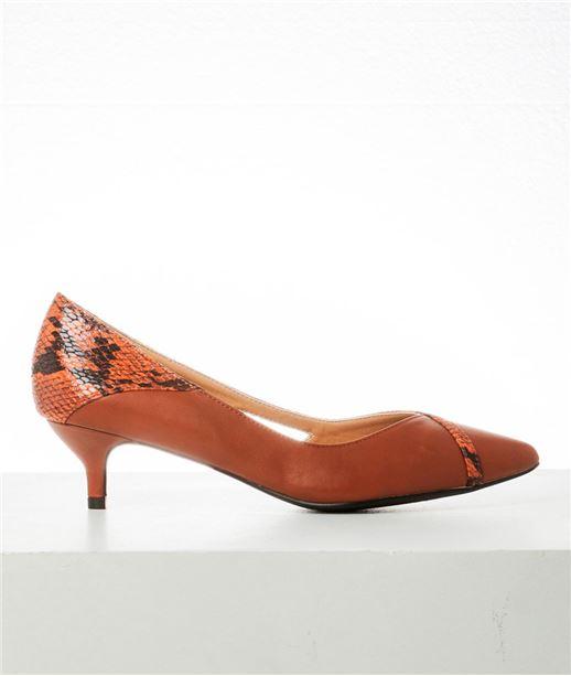 Chaussures Femme Escarpins Marron T37 (photo)