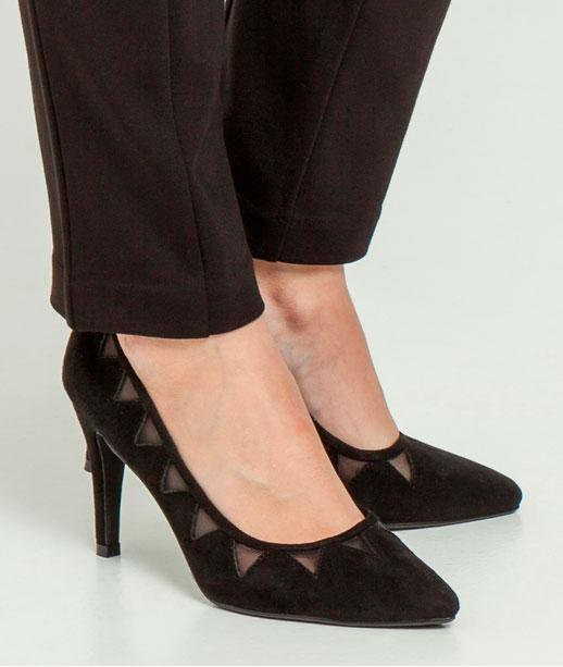 Chaussures femme escarpins ajourés (photo)