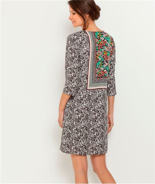 Robe femme imprimés foulard VERT CLAIR