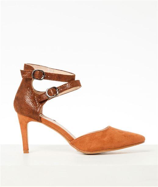 Chaussures femme escarpins brides (photo)