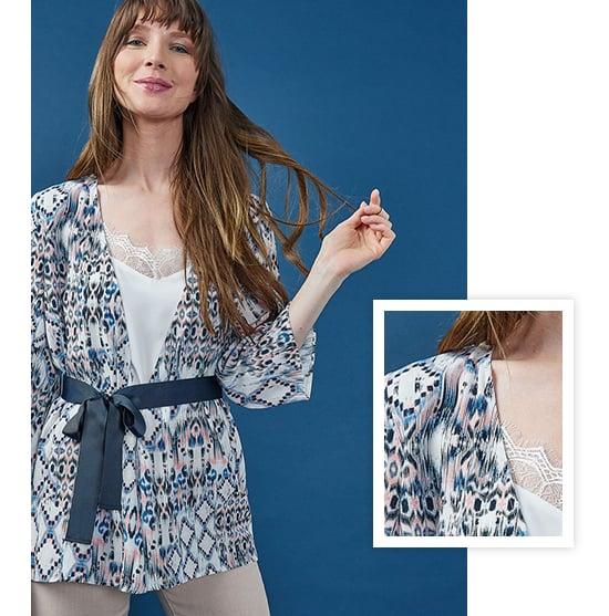 image veste kimono
