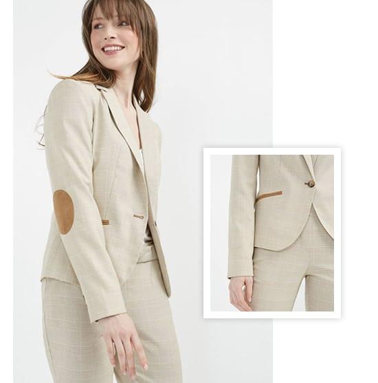 image veste tailleur