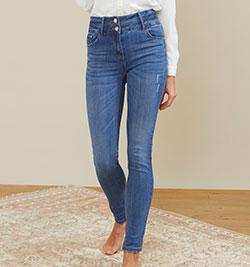 jeans tailles hautes