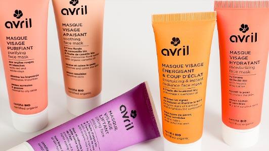 Produits Avril cosmétiques bio