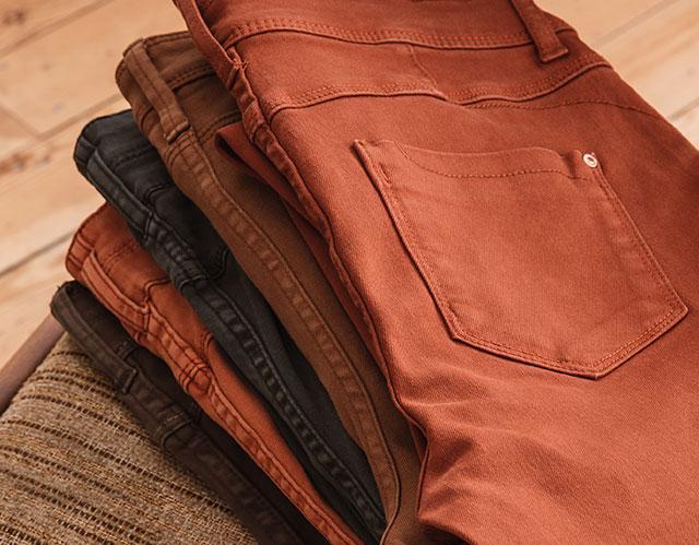 Jeans Colorés