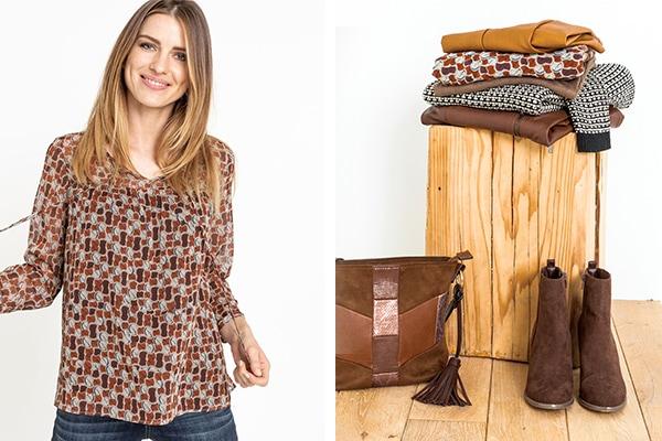 la collection caramel image Grain de Malice, vêtement pour femme
