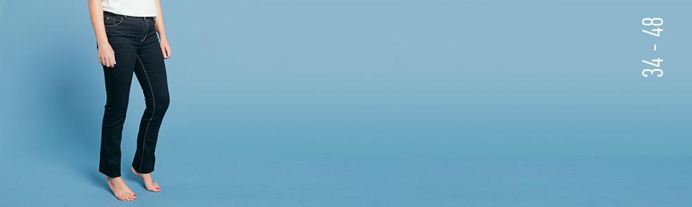 le jean droit New York image Grain de Malice, vêtement pour femme