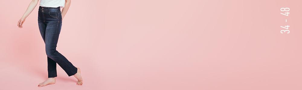 le jean droit Romance image Grain de Malice, vêtement pour femme