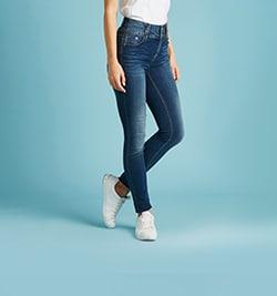 image rubrique jeans tailles hautes