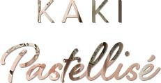 titre kaki pastellisé