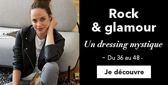 Rock & glamour. Un dressing mystique